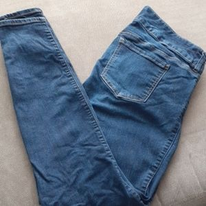 Torrid 14 tall jeggings distressed jeans